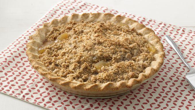 Extra Easy Streusel Apple Pie