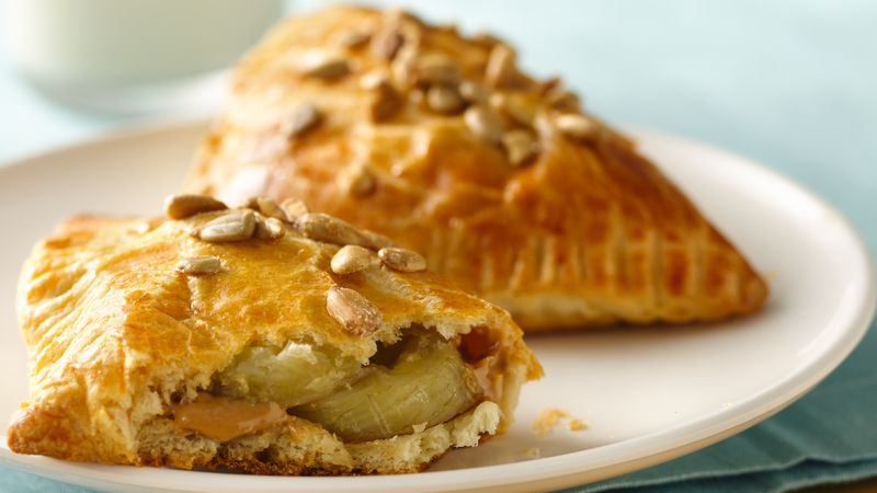 Peanut Butter and Banana Crescents