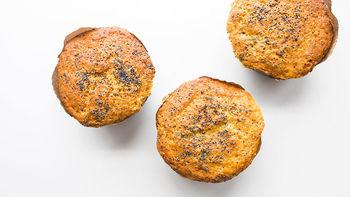 Copycat Costco™ Almond Poppy Muffins