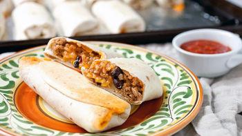 Mini Burrito Snacks