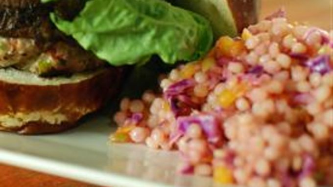 Tangy Cabbage Cous Cous Salad