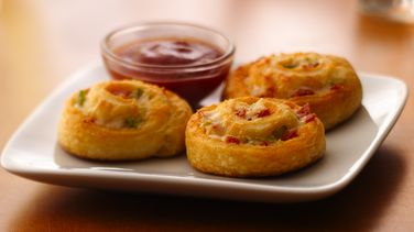 Crescent Pizza Pinwheels