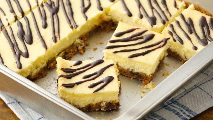 Chocolate Chip Cookie-Cheesecake Bars