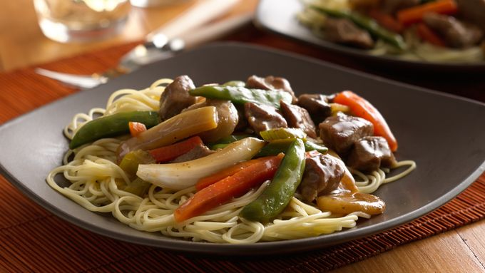 Slow-Cooker Pork Lo Mein