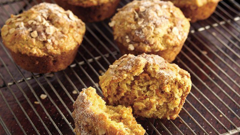 Sweet Potato-Oatmeal Muffins