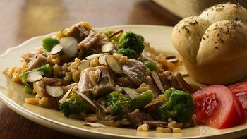 Cheesy Turkey-Rice Casserole