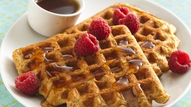 Whole-Grain Buttermilk Waffles