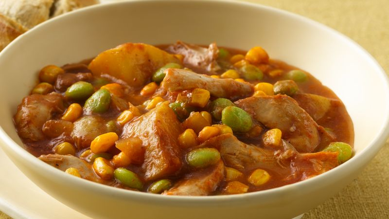 Slow-Cooker Chicken Brunswick Stew