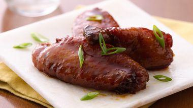 Slow-Cooker Teriyaki Chicken Wings