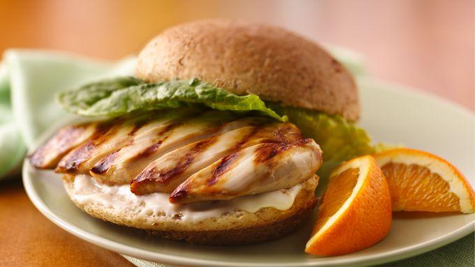 Honey-Grilled Chicken Sandwiches