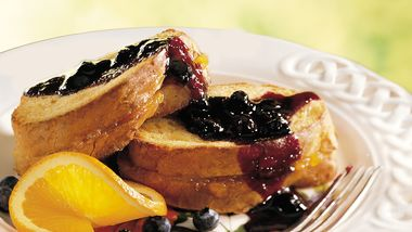 Blueberry-Orange French Toast