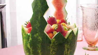 Minted Watermelon Basket