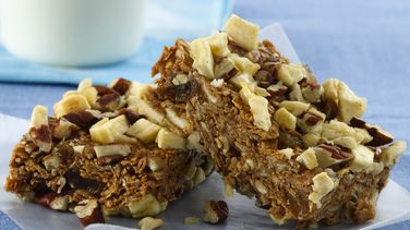 On-the-Go Apple Breakfast Bars