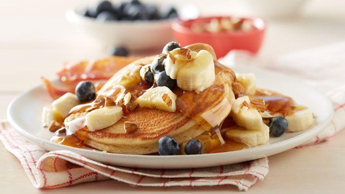 Almond Butter-Nut Pancakes