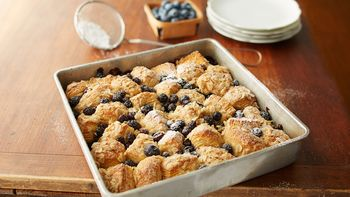 Blueberry Oatmeal Biscuit Coffee Cake