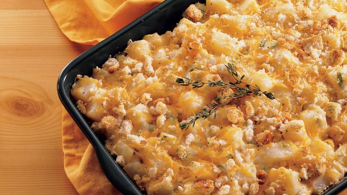 Thyme au Gratin Potatoes recipe - from Tablespoon!