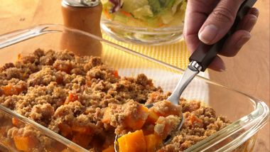 Streusel-Topped Squash