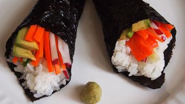 Temaki Sushi Paso a Paso