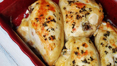 Golden Roasted Chicken Breasts