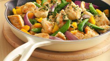 Chicken-Veggie Stir-Fry