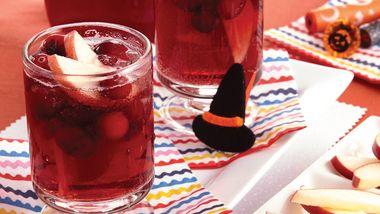 Sparkling Apple-Cranberry Punch