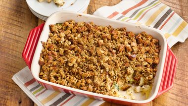 Turkey and Stuffing Bake