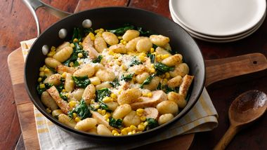 Chicken Gnocchi with Browned Butter