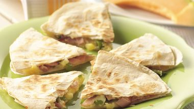 Hawaiian Quesadillas