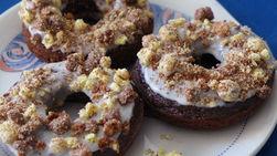 Donas Horneadas con Glaseado de Cereal Hershey's™ Cookies 'n' Creme