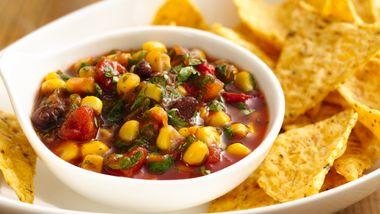 Quick Southwestern Corn Salsa