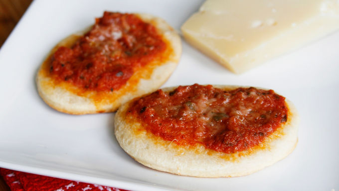 Bruschetta Mini Pizza