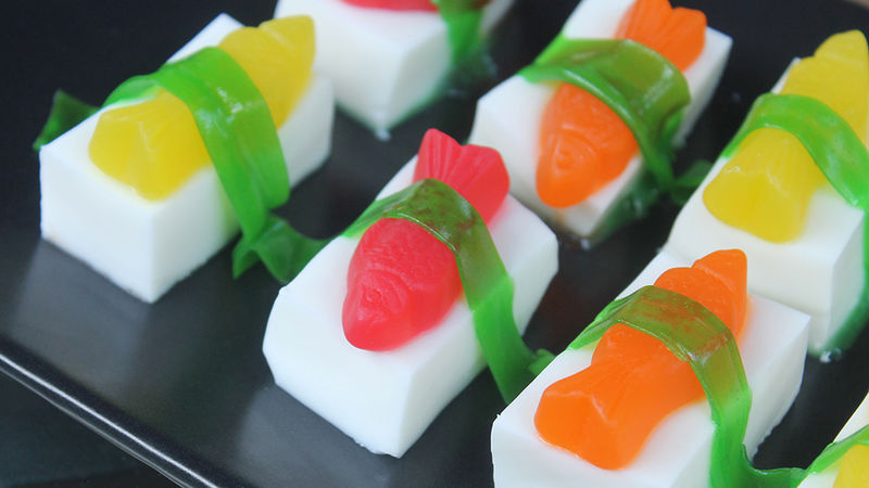 Sushi Jello Shots