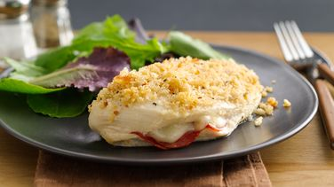 Pepperoni-Stuffed Chicken Breasts