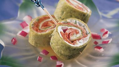 Mini Salmon Wraps