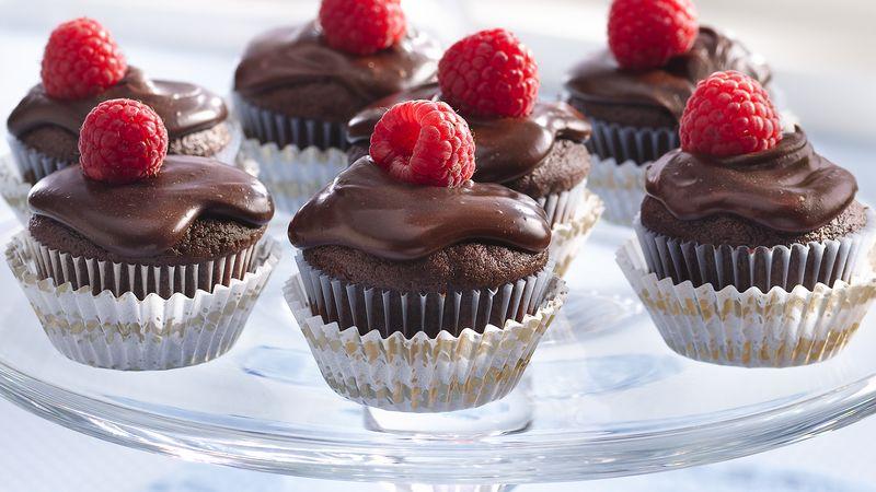 Chocolate Ganache Mini-Cakes