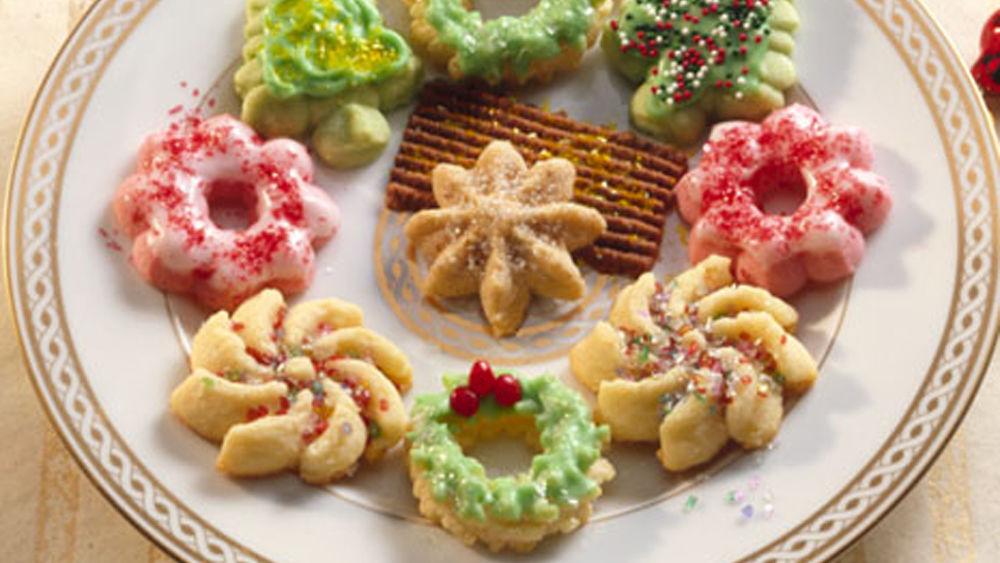 Classic Spritz Cookies recipe from Pillsbury.com