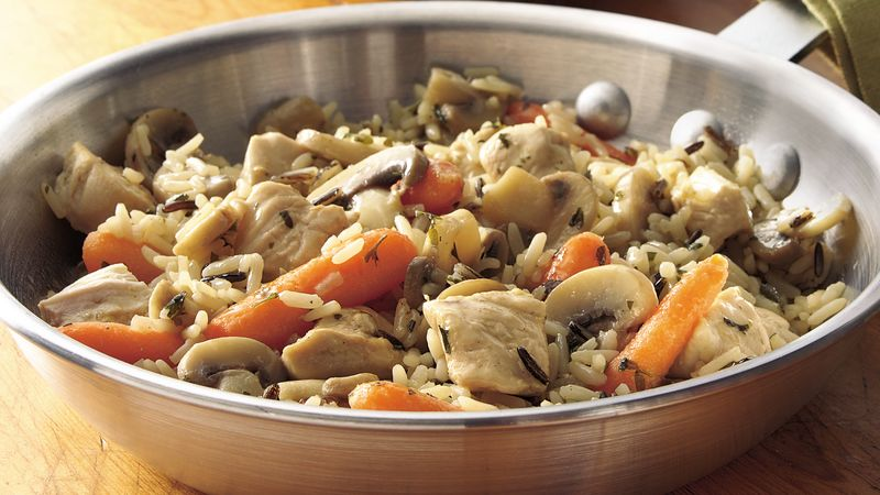 Savory Chicken and Rice