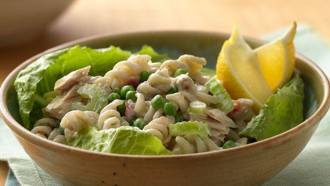 "Caesar Tuna ""Noodle"" Salad"