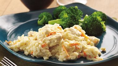 Slow-Cooker Chicken Risotto