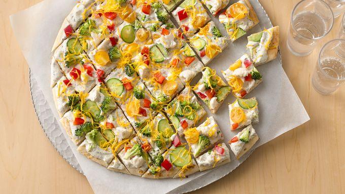 Festive Pizza Appetizers