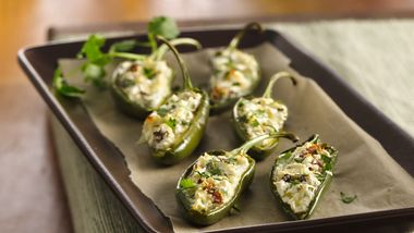 Spicy Bacon Jalapeño Poppers