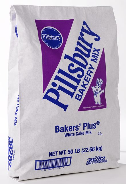 Wholesale White Cake Mix - Bakers' Plus™, Pillsbury