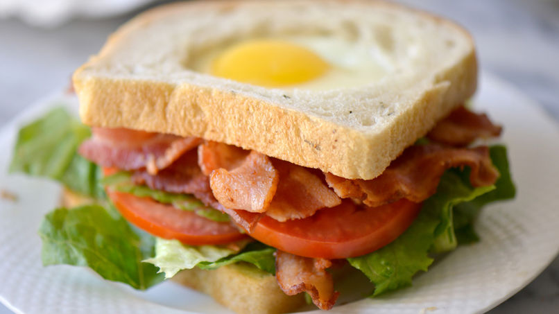 Egg in a Hole BLT