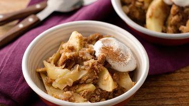 Cinnamon Apple Crisp