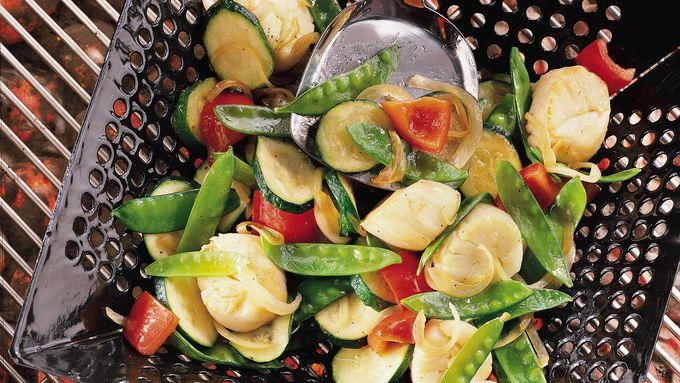 Scallop and Veggie Stir-Fry