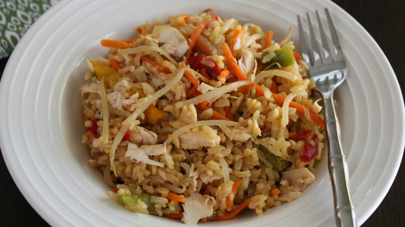 Veggie Tuna Rice