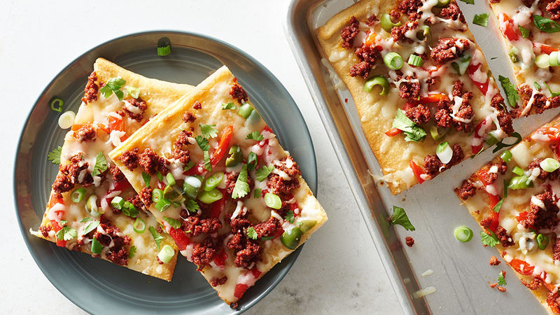 Chorizo Manchego Flatbread