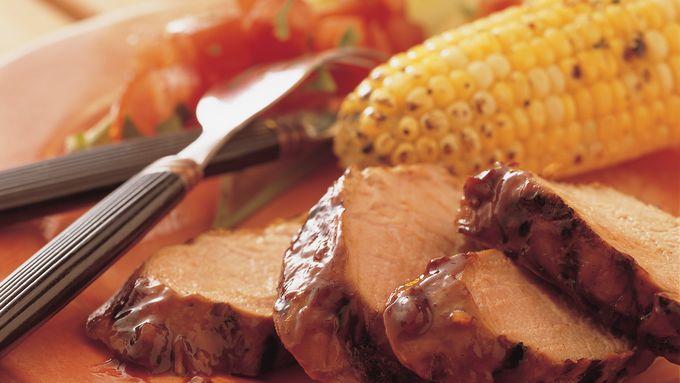 Barbecued Pork Tenderloin
