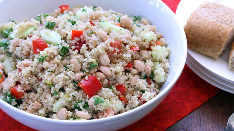 Garden-Fresh Lemon Quinoa Salad