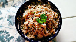 Cilantro and Lemon Brown Rice